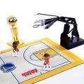 【現貨】籃球場模式 NBA騎士 勇士 湖人 火箭 籃球紀念品 禮物 迷你籃球架擺件