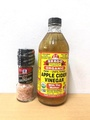 Bragg Apple Cider Vinegar 473ml + McCormick Himalayan Pink Salt 70g (1set)