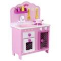 Mentari 木製玩具 - 甜蜜草莓廚房組