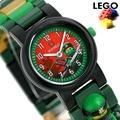 供Lego表小孩小孩使用的手錶忍者前進旋轉方法戰鬥的好手勞合8021421 LEGO人物表 nanaple