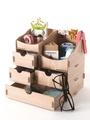 OrangeBear DIY桌面組合式分層抽屜設計格層收納盒