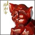 【宜佳】T木雕豬 紅木工藝品 木雕豬擺件 富足如意豬 可愛豬 生日禮物