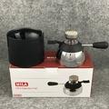 【沐湛咖啡】 MILA 高效能 小瓦斯爐 陶瓷登山爐 迷你登山爐 可搭配打火機瓦斯 附防燙充氣座 控火精準
