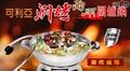 KRIA可利亞-涮烤兩用圍爐鍋/電火鍋/料理鍋/調理鍋(KR-840)1台
