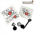 [學院咖啡] SealPod 不鏽鋼咖啡膠囊 (2入) 環保 重複使用 / 支援 Nespresso 指定系列