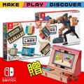 品名需更改為:【Switch】Nintendo 任天堂實驗室 Labo 綜合01+機器人02 (DIY紙板+遊戲)《加贈:備用USB充電線》Labo 綜合01+