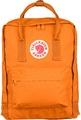 【【蘋果戶外】】Fjallraven Kanken Classic 23510 212 焦橘 瑞典 北極狐 小狐狸包 復古後背包 方型書包