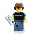 LEGO 樂高 Series 12 Collectible Minifigure 71007 - Video Game Guy Gamer