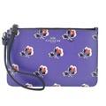 COACH 馬車花卉 PVC 手拿包(紫)