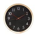 CUIZIMATE  นาฬิกาแขวน สีดำ ขนาด 12 นิ้ว