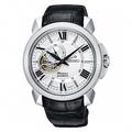 SEIKO Premier 羅馬鏤空設計機械時尚腕錶/皮帶/4R39-00S0P/SSA3