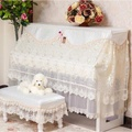 ! Embroidery Piano Cover European Style Luxury Piano Full Cover South Korea Piano Set Piano Dust Cover Piano Phi