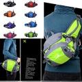 休閒運動戶外腰包騎行/跑步多功能男女通用尼龍防水腰包-5色/單售