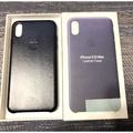 iPhone XS Max 原廠專用皮革殼 午夜藍色 皮革 用不到兩個禮拜 近全新