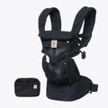 美國 ERGOBABY Omni全階段型四式360嬰兒揹帶|背巾(透氣款)黑色瑪瑙【麗兒采家】