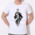 Fashion tshirt Sag tshirt homme brand clothing for men ew fashion women men hip hop crown lion print t shirt mens 3D compression t-shirt B-21066
