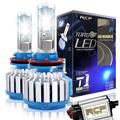 T1 汽車機車LED大燈 遠燈近燈 H4大燈 H1 H3 H7 9005 9006 高亮聚光 汽車大燈 LED