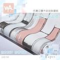 Wall Art 工業風自黏壁紙 防水立體木板紋路 白紅色木紋 加寬60*100cm 附刮板 多張不裁切 非泡棉3D壁貼
