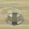 鑽石吸塑盒 乳酪蛋糕 圓形塑膠盒 月餅吸塑