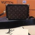 "Louis Vuitton กระเป๋าสะพายหลุยส์ผู้หญิง size: 23 cm 9.2"" Grade: Ori ดูดีมีฐานะ หนังแท้  Monogram กระเป๋าทำงาน กระเป๋าไปงานราตรี"