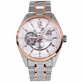 DK05001W Orient STAR Automatic Two Tone Stainless Steel Semi Skeleton Watch