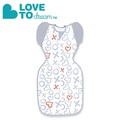 Love To Dream SWADDLE UP 50/50 專利蝶型包巾 stage2 可拆式進階款-ORIGINAL KISSES款(M/L)