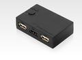 REX-230UH 2-Port HDMI USB電腦(電競)切換器 電競切換器 KVM切換器 桌上型 多電腦切換器