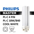 Philips Master PL-C 18W/840 - 4P - 6 Pieces Free 4 Pieces (Cool White)