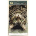 Fiddlers Elbow Perculiar Perspective Cat Kitchen Cotton Dish Towel by Fiddlers Elbow