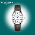 Longines Record Automatic Stainless Steel White Dial Mens Watch L28204112
