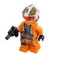 Lego 樂高 星際大戰 人偶  X翼戰機 隊長 含武器 75218