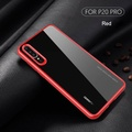 Silicone TPU + Acrylic Transparent Case Back Cover Phone Case For Huawei P20 / P20 Pro for huawei p20 / p20 pro