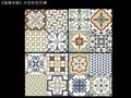 《磁磚本舖》米克彩色花磚 33x33cm 共四款圖案隨機出貨 玄關磚 花磚 地毯磚