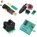 AYW☚ EEPROM BIOS USB Programmer CH341A + SOIC8 Clip + 1.8V Adapter + SOIC8 Adaptor Kit