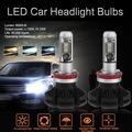 ★Vd★(DICN授權)汽車LED前大燈-X3ZES高亮全系列  X3  H11 黑色