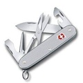 Victorinox Swiss Army  มีดพับอเนกประสงค์ ลิขสิทธิ์แท้  KNIVES PIONEER X SAK 0.8231.26 FIRST PIONEER POCKET KNIFE WITH SCISSORS - SILVER