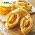 【方師傅】8盒黃金起士小羅宋麵包(45g/顆*6顆/盒)