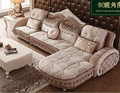1+1+3 seat /lot fabric living room sofa set combination for big hotel or villa