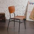兩入一組 工業風復古微笑單人椅 餐椅(45x43x76cm)