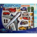 § § 磊磊小舖§ §7788-8飛機場系列 飛機場玩具場景模型套件 禮盒裝 新款 卡通飛機造型 飛機 工程車 直升機