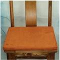 PAPA百貨店-新中式椅墊紅木沙發墊實木坐墊布藝海綿墊單色麂皮絨飄窗墊訂做