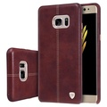 Nillkin Englon phone bags for Samsung Galaxy Note FE(Fan Edition) case luxury PU Leather Vintage back cover (5.7 inch)