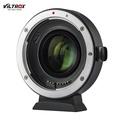VILTROX EF-EOS M2 Auto เลนส์โฟกัสตัวแปลงเลนส์แหวน 0.71X คูณความยาวโฟกัส USB อัพเกรดสำหรับ Canon EF รุ่นเลนส์ EOS EF-M กล้องไร้กระจกสำหรับ Canon EOS M/M2/M3/M5/M6/M10/M50/M100
