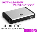 JL AUDIO J L音頻HD900/5 Class D全部的範圍100W×4ch+500W數碼功率放大器 Creer Online Shop