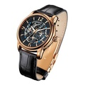 ARBUTUS CHRONOGRAPH AR408RBB STAINLESS STEEL ROSE GOLD UNISEX WATCH
