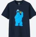 芝麻街 Kaws 全系列 餅乾怪獸 艾摩 Elmo Uniqlo 男裝 短T 絕版衣服