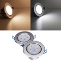 5W Dimmable Bright LED Recessed Ceiling Down Light 85-265V
