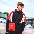 Nmind Sneaker👟Nike NSW Sportswear 撞色 衝鋒衣 黑白紅 男 (AQ2066010)