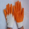 廠價勞保手套批發/工作手套/浸膠手套/耐磨尼龍PVC手套1.25元/雙