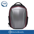 【Datashell】滑面硬殼後背包(銀色輕量型)